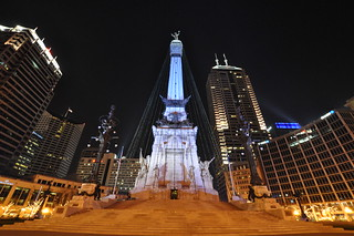Soldiers and Sailors Monument 의 이미지. travel november vacation indianapolis indiana 2009 2000s vxla