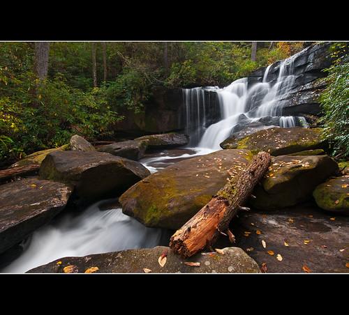jeff nature landscape flow waterfall stones wide northcarolina falls boulders trunk brevard pisgahnationalforest cedarrockfalls jlmphoto milsteen