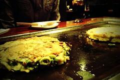 monjayaki, restaurant, street food, food, dish, cuisine, okonomiyaki,
