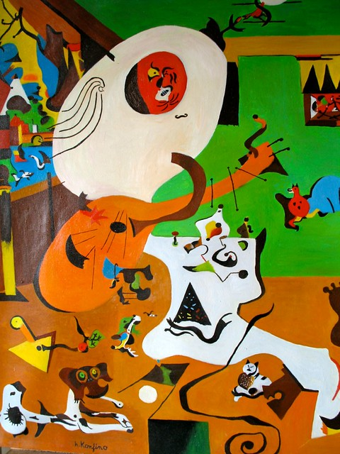 Miro int rieur hollandais flickr photo sharing for Joan miro interieur hollandais