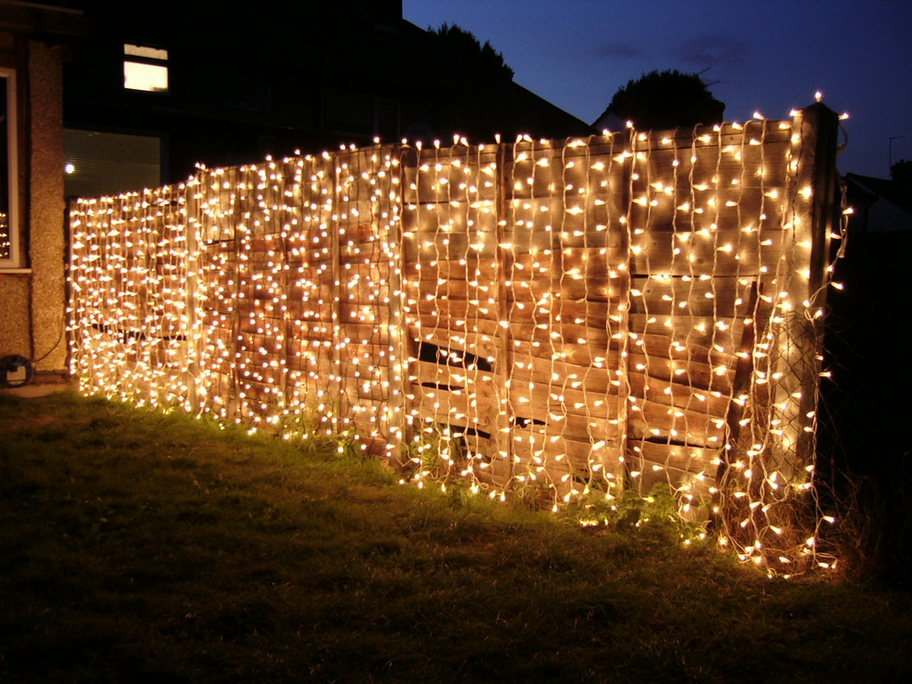 Garden Curtain Lights