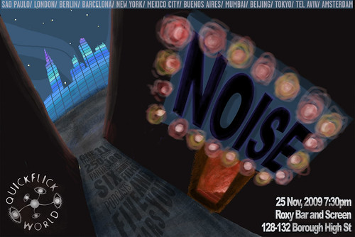 Noise Party Invite - London