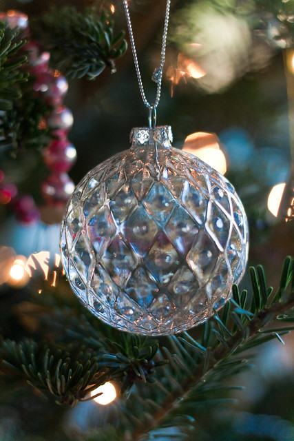 Crystal Xmas Decorations