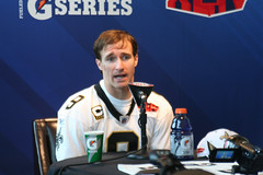 Drew Brees, Media Day