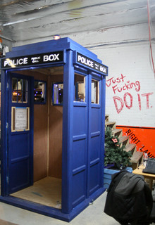 TARDIS. Just Fucking DO IT.