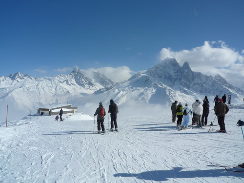 ski in ski out french alps