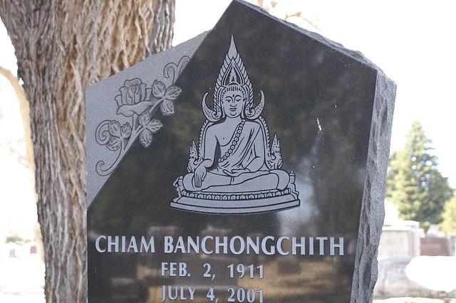 buddha grave