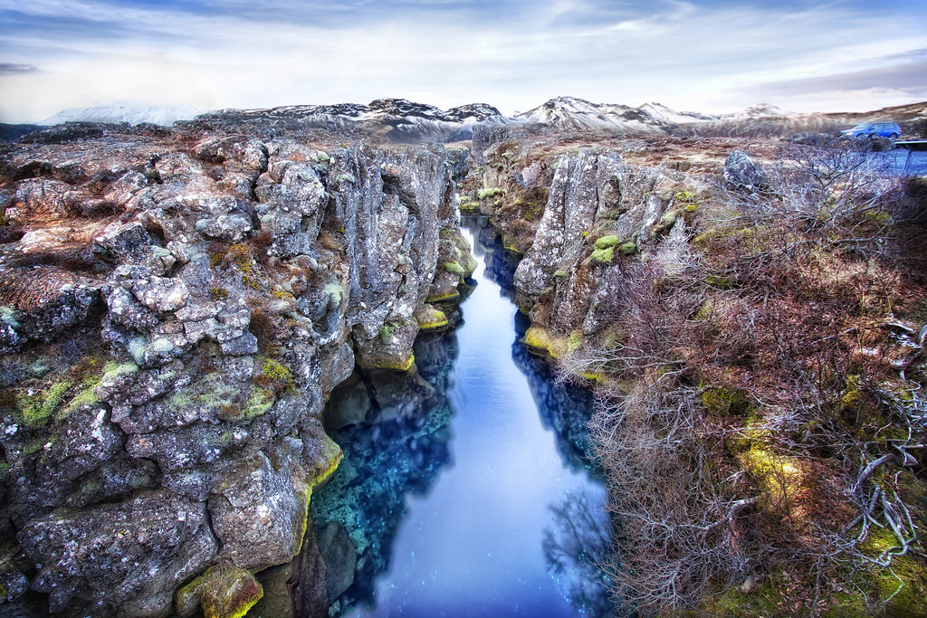 Rift Zone Stream, Þingvellir (Thingvellir) National Park