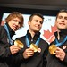 Men's Pursuit Speed Skating Gold Medalists