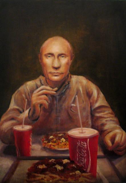 Vladimir mange américain