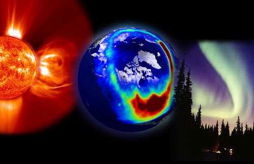 Aurora Composite Image