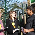 Campaigning for fair school funding in Hornsey