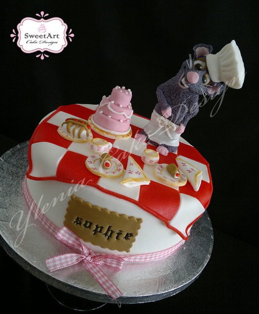 Torta Ratatouille cake Tora compleanno ratatouille - www ...