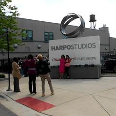 posing, Harpo Studios, Oprah Winfrey's last show