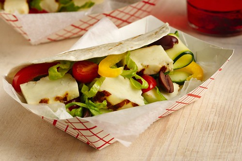 Greek Grilled Cheese Tacos Recipe
