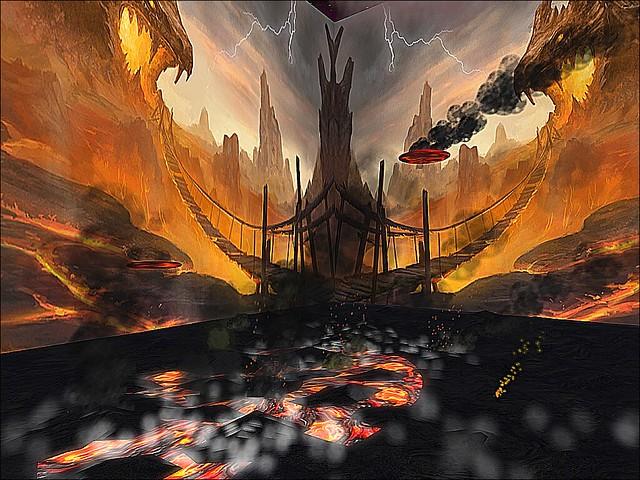 Rodeo In the Devil's Playground -  Sulpher & Brimstone Bridge