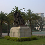 維多利亞女皇銅像 Queen Victoria Statue