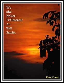 ` Glowing Sunset `