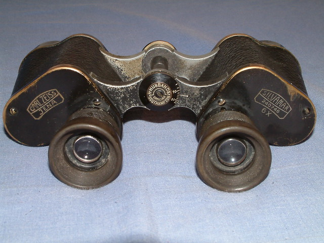 In excellent condition for a pair of binoculars almost 100 years old ...