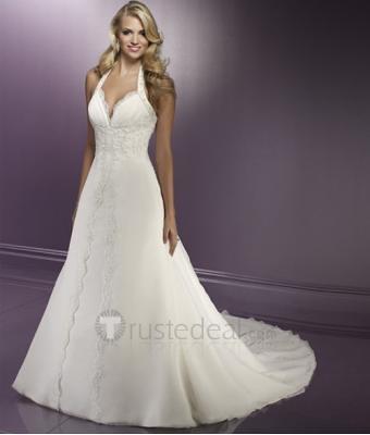 Wedding Dress Halter Top 52 Awesome A line Halter Wedding