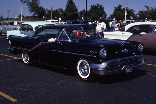 1957 Oldsmobile Ninety Eight Holiday Coupe