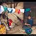 Girl weaving, Todos Santos, Guatemala