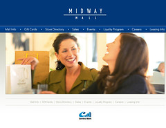 Midway Shopping Mall Website (2006)