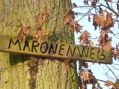 "Maronenweg - Wanderweg - ""Tübingen - Horemer"""