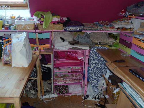 mon atelier enfin finalis visite guid e ma petite fabrique bonheurs. Black Bedroom Furniture Sets. Home Design Ideas