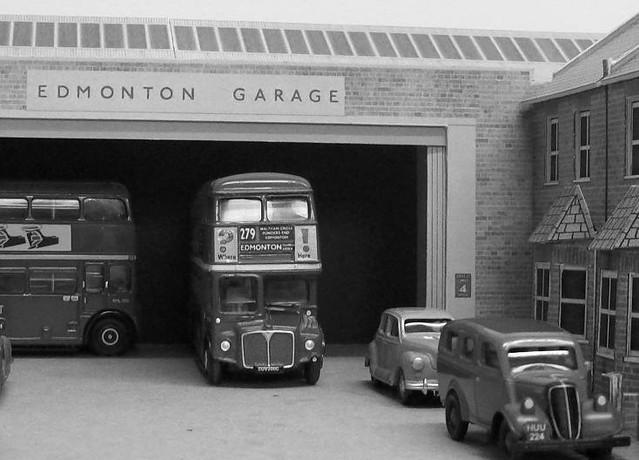 Edmonton tramway avenue bus garage 4mm scale kingsway for Garage packages edmonton