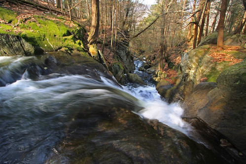 spring stream waterfalls runoff somewhereinthere goldminebrook chesterblandfordhuntington