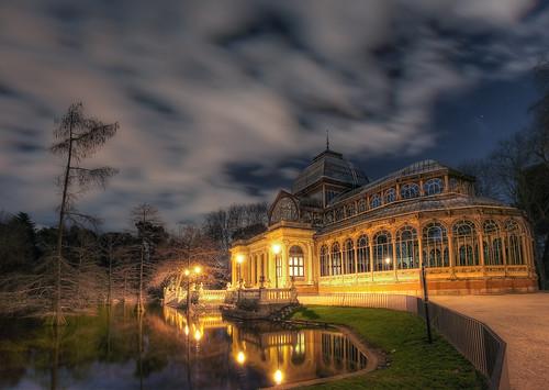 Crystal Palace – Palacio de Cristal, Parque del Retiro, Madrid, HDR
