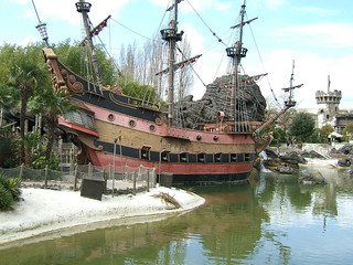 Captain Hook's Pirate Ship - Disneyland Paris