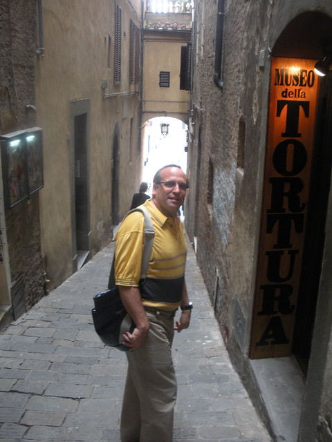 Walking in Siena