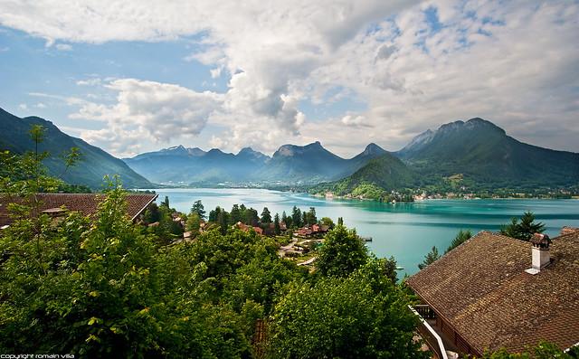 Talloires - Lac d'Annecy - Haute-savoie