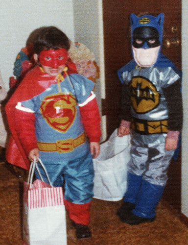 vintage Ben Cooper Batman costume