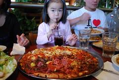Chicken Hawaiian, Meat Lovers Pizza - Sofia Pizza, Camberwell AUD16.90 large