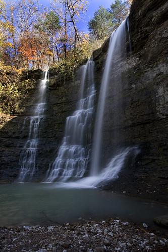 longexposure autumn waterfalls arkansas 9nd