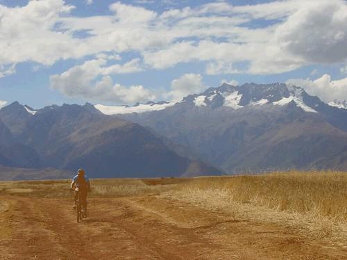 Mountain biking in the Sacred Valley, Cusco