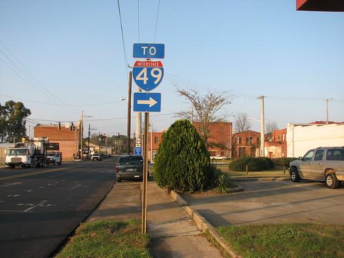 louisiana highways roadsigns highwaysigns i49 us84 interstate49