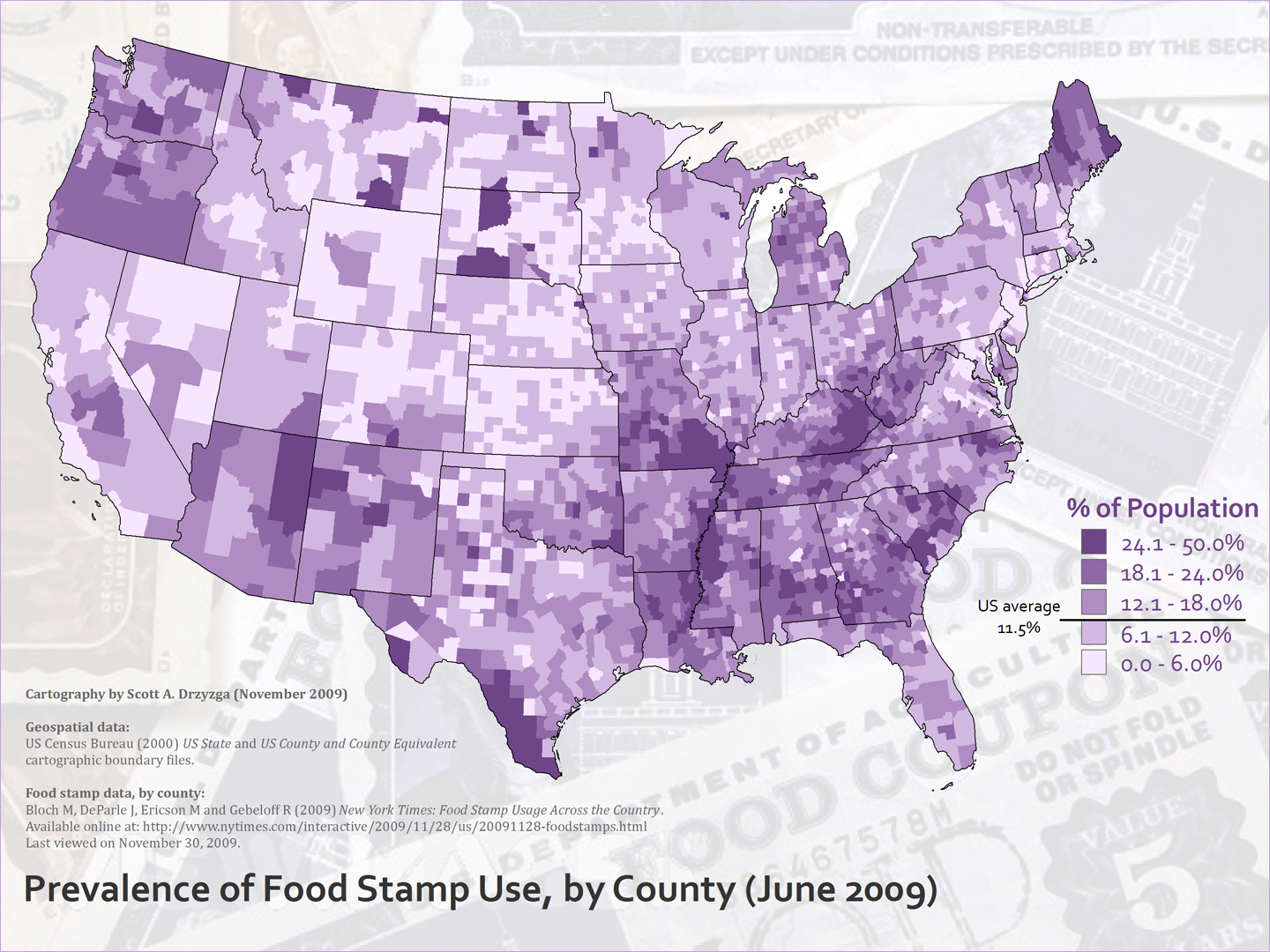 Food Stamps In Red States By County  Libertarian - Us counties with lowest population