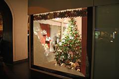 Neubrandenburg Weihnachten 2009 - Weberglockenmarkt, Schaufensterdeko