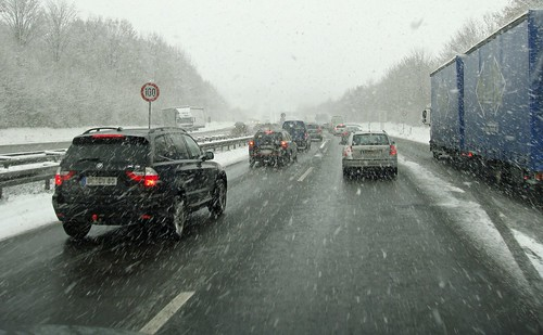 Wenig Schnee - viel Chaos