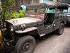 Old Jeep in Chinatown, Bangkok