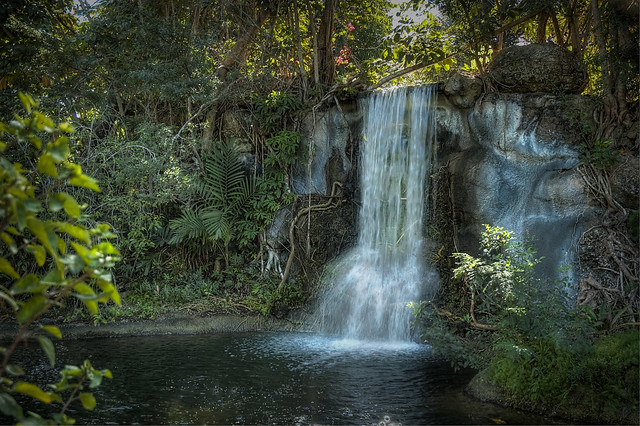 Garden of the Groves Waterfall