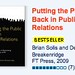 Putting the Public Back in Public Relations a Bestseller (Third Printing!)