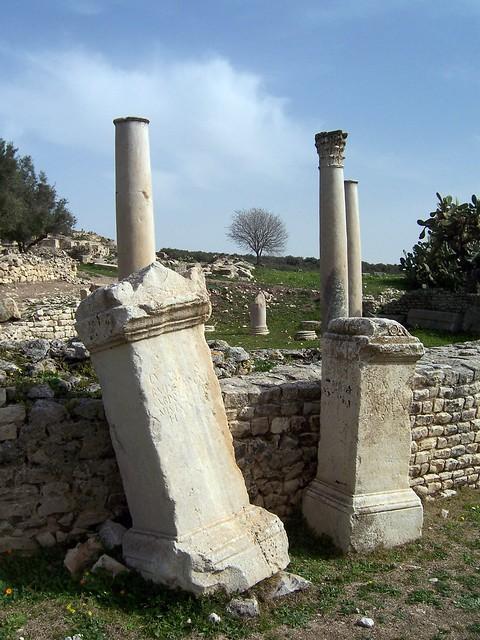 Roman funeral steles, Dougga