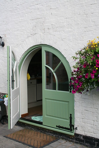 Arched Timber door