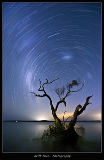 Star Trails with high tide | by Keith Poon