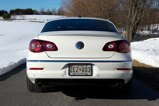 vw passat cc   smoked tail lights flickr photo sharing